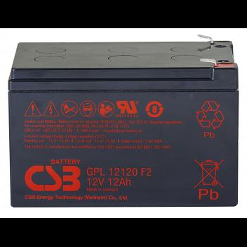 Аккумулятор CSB GPL12120 F2