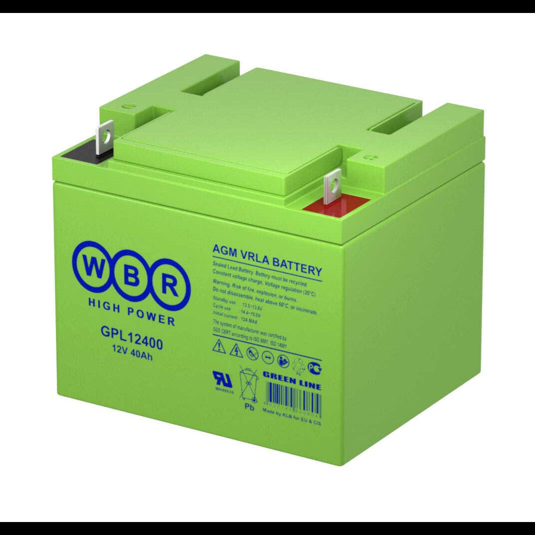 Батарея аккумуляторная WBR GPL12400