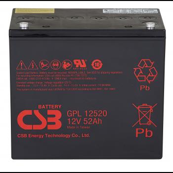 Аккумулятор CSB GPL12520