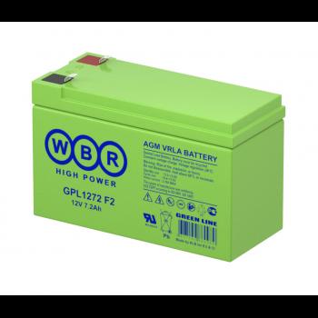 Батарея аккумуляторная WBR GPL1272 F2