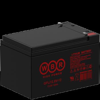 Литий-железо-фосфатный (LiFePO) аккумулятор WBR GPLi 12.8V-12K