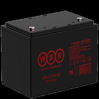 Литий-железо-фосфатный (LiFePO) аккумулятор WBR GPLi 12.8V-80K