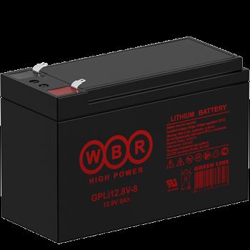 Литий-железо-фосфатный (LiFePO) аккумулятор WBR GPLi 12.8V-8K