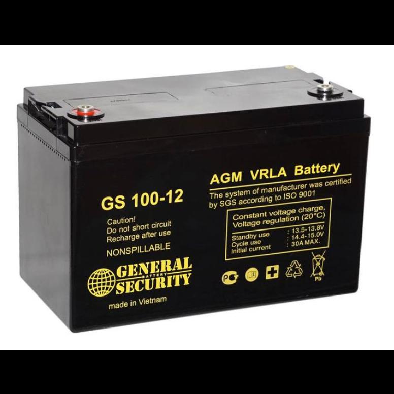 Аккумулятор GS 100-12 KL