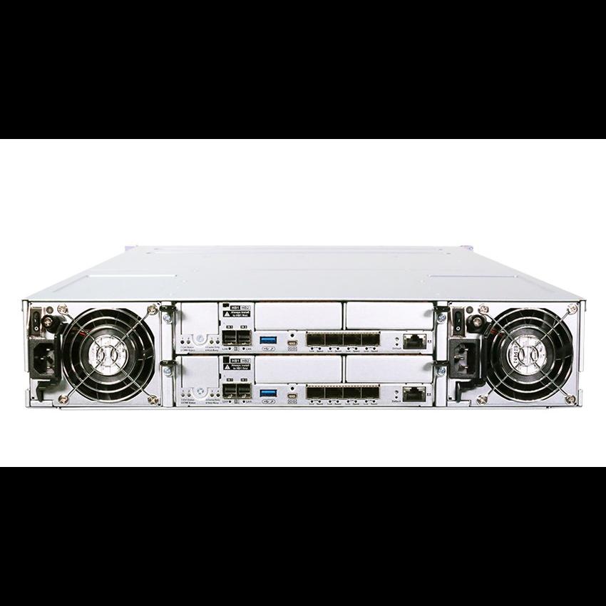Система хранения данных Infortrend GS3012RCF-D (2xCtrl, до 12xHDD, 4xSAS12G внеш. порт, 4x4GB, 4x1G и 4x10G порта iSCSI)