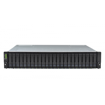 Система хранения данных Infortrend GS3024R2CF-D (2xCtrl, до 24xHDD, 4xSAS12G внеш. порт, 4x4GB, 8x10G портов iSCSI)
