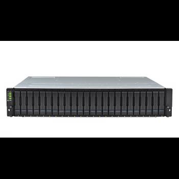 Система хранения данных Infortrend GS3024RCBF-D (2xCtrl, до 24xHDD, 4xSAS12G внеш. порт, 4x4GB, 4x1G порта iSCSI)