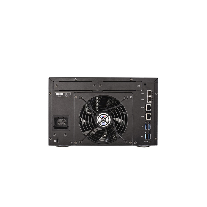 Система хранения данных Infortrend GSEP205-D (до 5xHDD, 2x4GB, 2x1G порта RJ45, 2x10G порта SFP+)