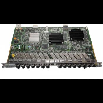 Модульная карта для установки в шасси ZTE ZXA10, 16 портов GPON, C++