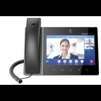 "Grandstream GXV3380 - IP видеотелефон. 16 SIP аккаунтов, 16 линий, 8"" (1280×800) мультитач экран, PoE, (1GbE)Gigabit Ethernet, Wi-Fi, Bluetooth"