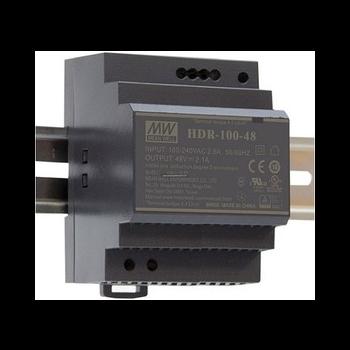 HDR-100-48 Блок питания на DIN-рейку, 48В, 1,92А, 92Вт Mean Well