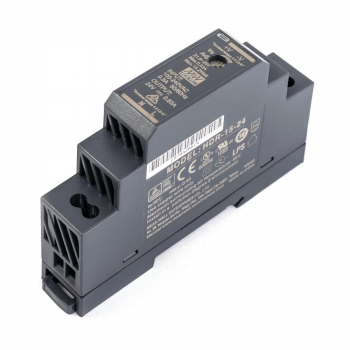 HDR-15-48 Блок питания на DIN-рейку, 48В, 0,32А, 15Вт Mean Well