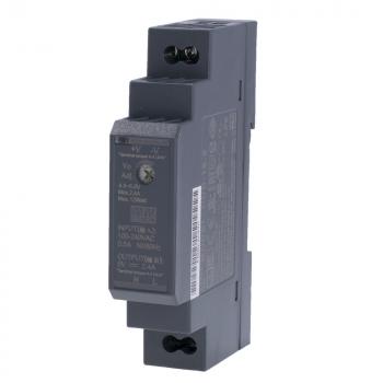 HDR-15-5 Блок питания на DIN-рейку, 5В, 2,4А, 12Вт Mean Well