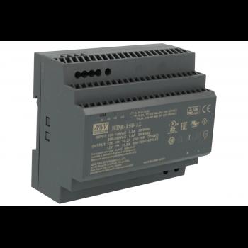 HDR-150-24 Блок питания на DIN-рейку, 24В, 6,25А, 150Вт Mean Well