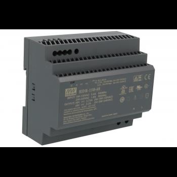 HDR-150-48 Блок питания на DIN-рейку, 48В, 3,2А, 150Вт Mean Well