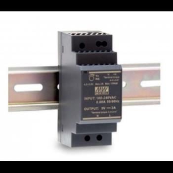 HDR-30-5 Блок питания на DIN-рейку, 5В, 3А, 15Вт Mean Well