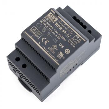 HDR-60-12 Блок питания на DIN-рейку, 12В, 4,5А, 54Вт Mean Well