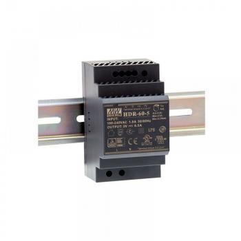 HDR-60-48 Блок питания на DIN-рейку, 48В, 1,25А, 60Вт Mean Well