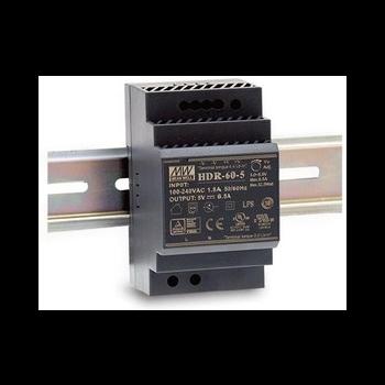 HDR-60-5 Блок питания на DIN-рейку, 5В, 6,5А, 32,5Вт Mean Well