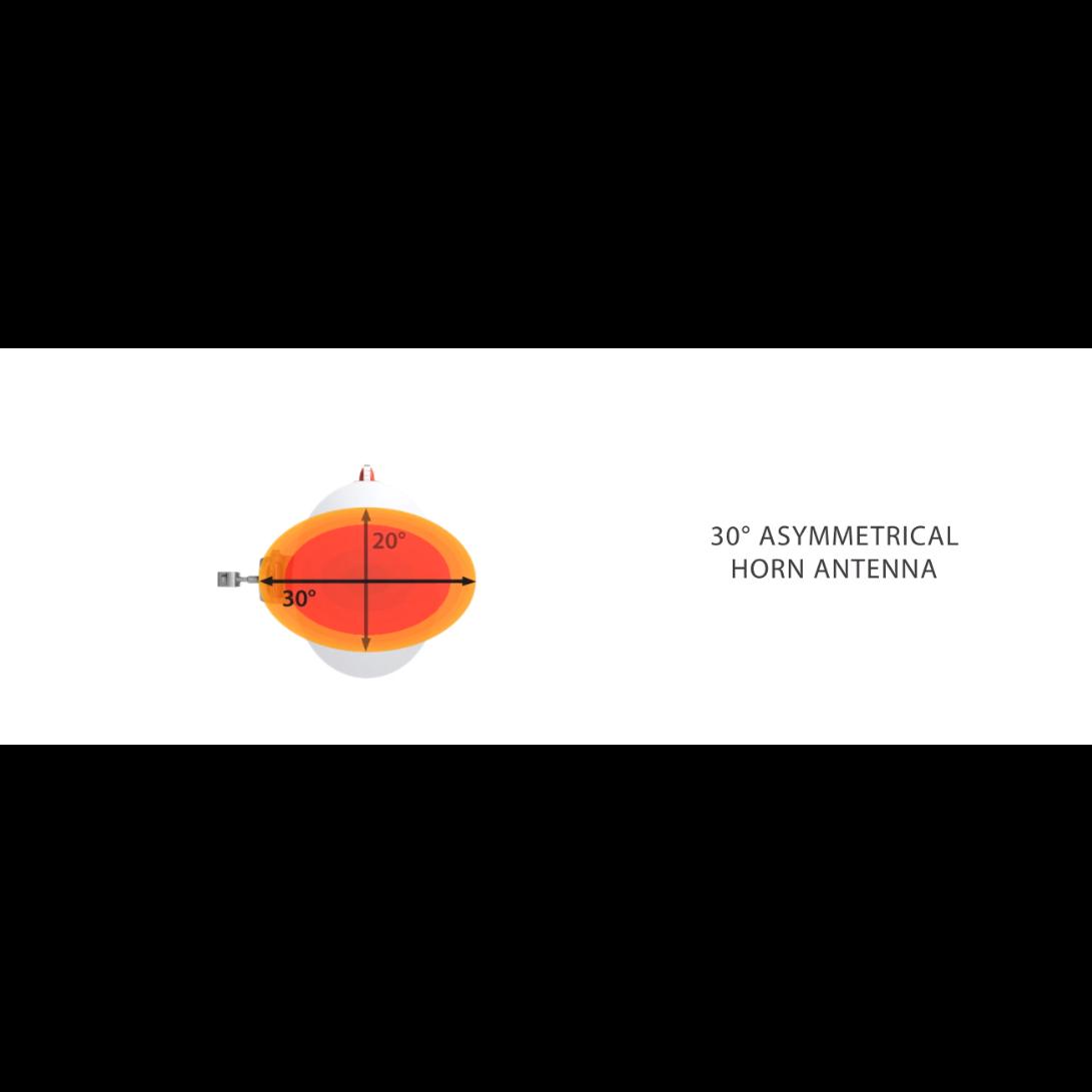 Ассимметричная лучевая антенна RF elements HG3-TP-A30 5GHz 20.5dBi