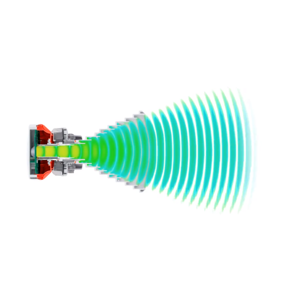 Симметричная рупорная антенна RF elements HG3-TP-S70 5GHz 11dBi