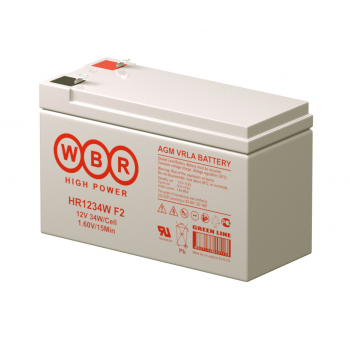 Батарея аккумуляторная HR 1234 W F 2 WBR 9 Ач