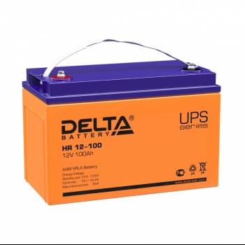 Аккумуляторная батарея HR 12-100 Delta