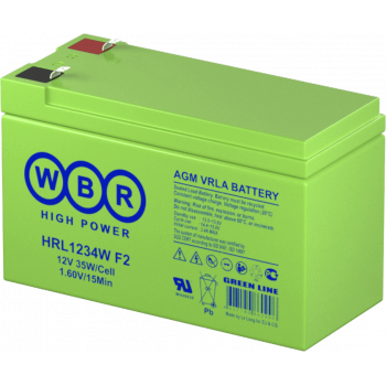 Батарея аккумуляторная WBR HRL1234W F2