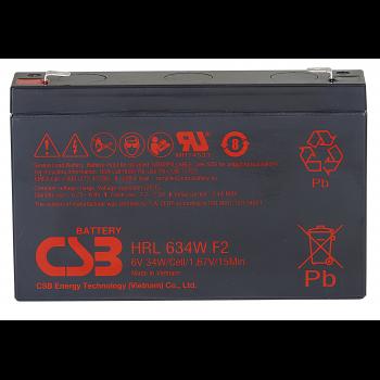 Аккумулятор CSB HRL634W F2 FR