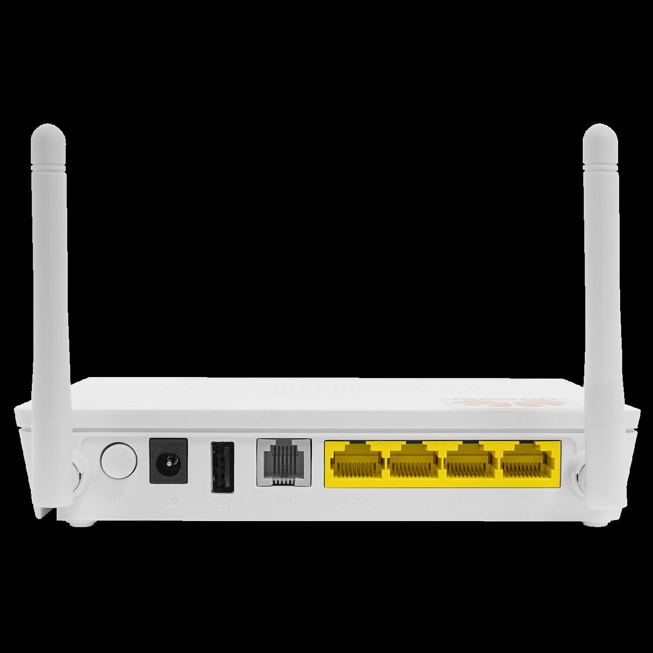 Абонентский терминал HUAWEI ONU GPON, 1 порт 100/1000Base-T,  4 порта 10/100Base-T, 1 порт POTS, WiFi, USB