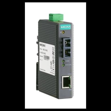 Медиаконвертер IMC-21-S-SC Ethernet 10/100BaseTX в 100BaseFX, одномод MOXA