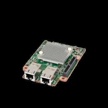 Сетевой mezzanine адаптер Dell, 2 порта 1000Base-T/10GBase-T для PowerEdge C6320