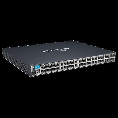 Коммутатор HP 2910-48G al (некондиция, 1 порт работает только на скорости 10 Мбит/с)