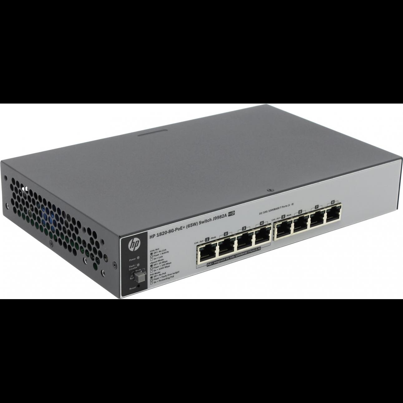 Коммутатор HP 1820-8G-PoE+ (J9982A)