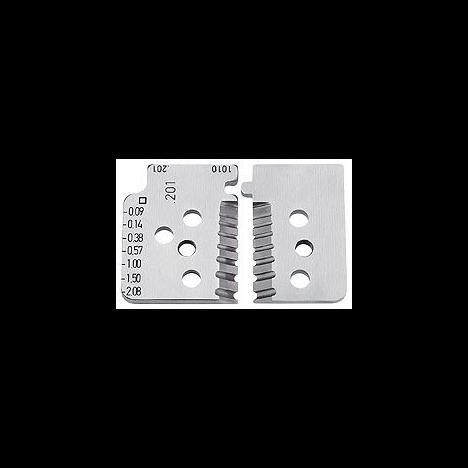 Прецизионный инструмент для удаления изоляции (Ø0,14 - 6,00mm²) Knipex KN-121206