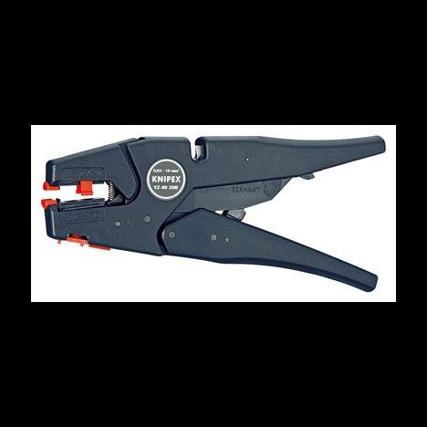 Инструмент для удаления изоляции самонастраивающийся (Ø0,03 - 10,0mm²) Knipex KN-1240200