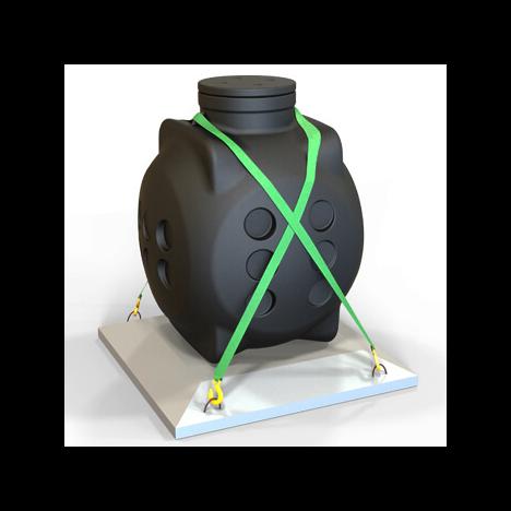 Колодец ККТ-2 кабельный без металлокаркаса