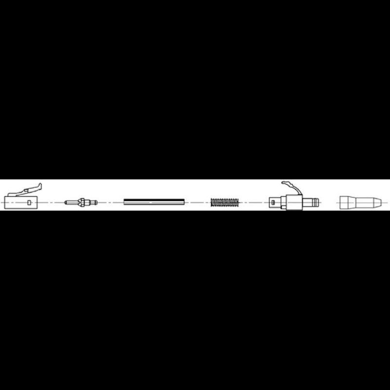 """Разъем оптический Ilsintech """"Splice-On Connector"""" LC/APC для кабеля 0,9 мм"""