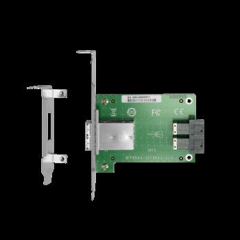 Переходной адаптер HDmSAS внешний на HDmSAS внутренний