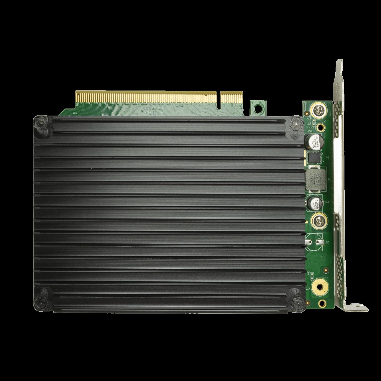 Переходной адаптер PCIe 3.0 x16 на 4xM.2 NVMe