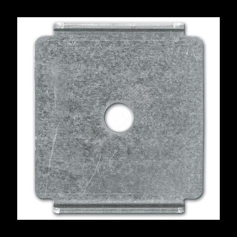 Пластина для подвешивания проволочного лотка на шпильке