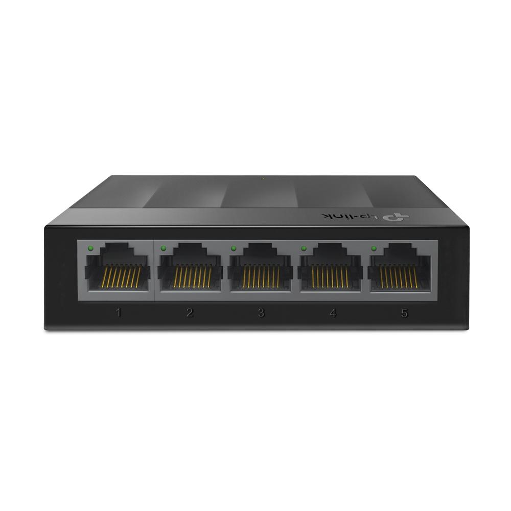 5-портовый 10/100/1000 Мбит/с настольный коммутатор
