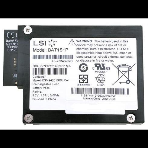 Батарея аварийного питания кэш-памяти для 9280/9261/9260