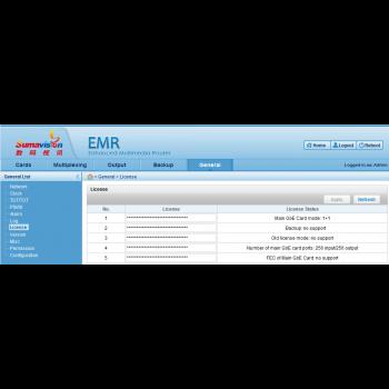 Дополнительная лицензия на активацию функции backup для шасси EMR 3.0