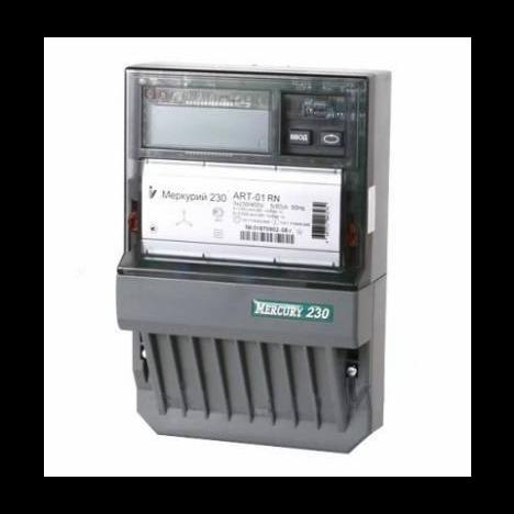 """Счетчик """"Меркурий"""" 230 АRT-02 PQRSIN 10-100А, 1.0/2.0 класс, многотарифный, IrDA RS485, ЖКИ"""