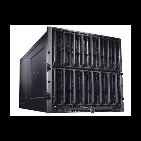 Блейд-система Dell PowerEdge M1000e, 8 блейд-серверов M610: 2 процессора Intel Xeon Quad-Core L5520 2.26GHz, 8GB DDR3