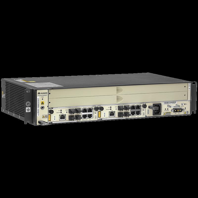 2RU шасси Huawei OLT GPON, 2 слота для установки интерфейсных модулей, 8 GPON портов