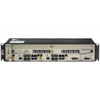 2RU шасси Huawei OLT GPON, 2 слота для установки интерфейсных модулей, 8 GPON портов, DC
