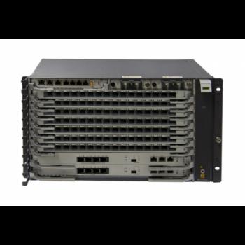 6RU шасси Huawei OLT GPON, 7 слотов для установки интерфейсных модулей, 4x10G порта