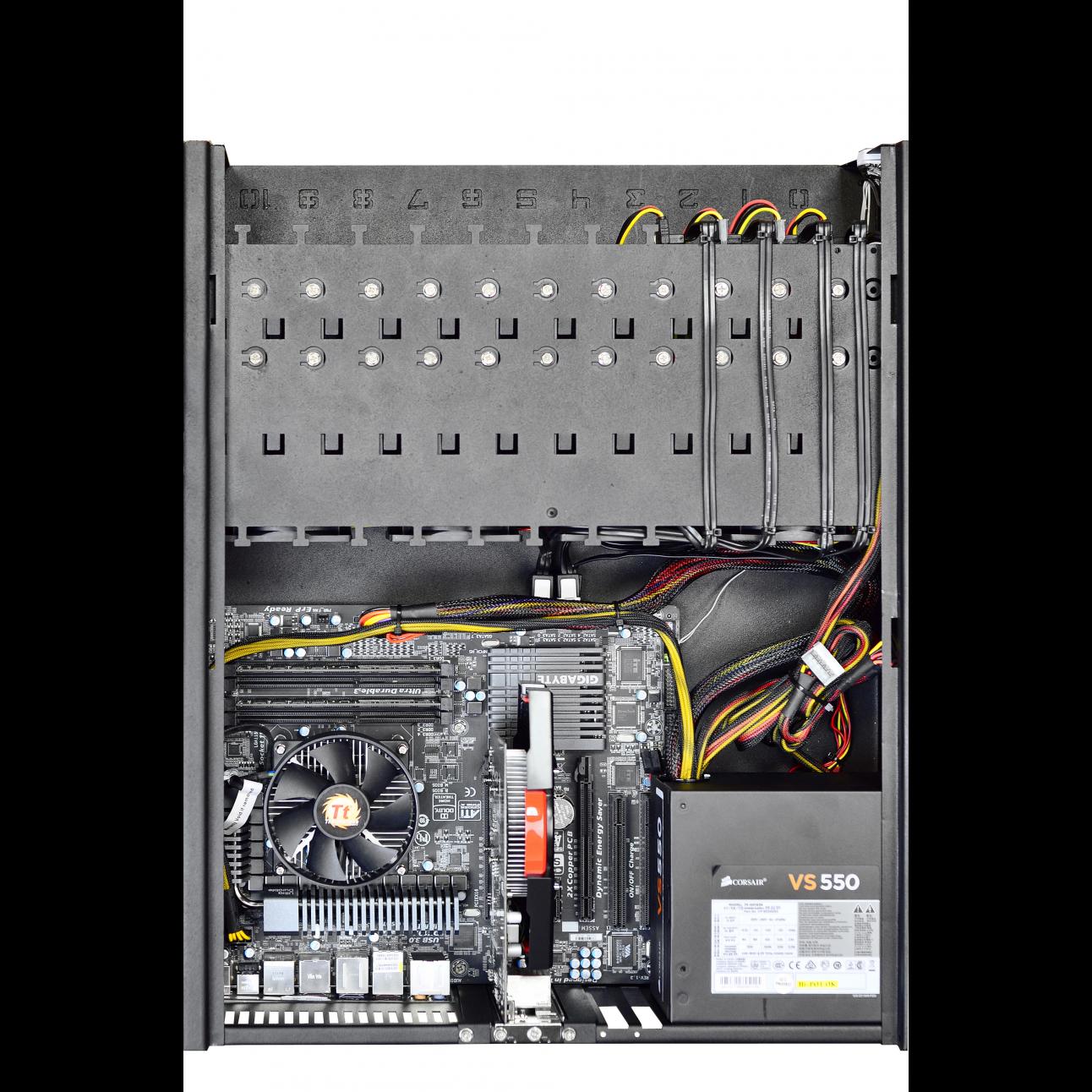 Сетевой видеорегистратор Macroscop NVR 25 L (VMT-12)